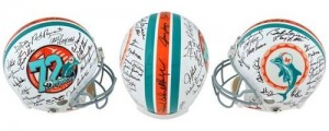 1972 Dolphins Undefeated Season Team Signed Official Game Issue Helmet