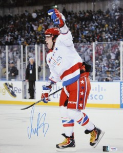 Alexander Ovechkin Hand Signed 16x20 Masterpiece
