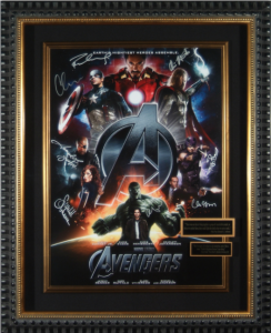 Avengers Cast Signed Masterpiece Collage