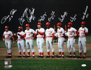 Big Red Machine Multi Signed 16x20 Masterpiece