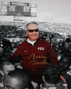 Bobby Bowden Hand Signed Florida State 16x20 Masterpiece