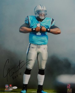 Cam Newton Hand Signed Carolina Panthers 16x20 Masterpiece