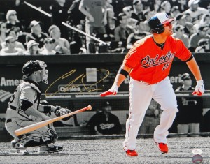 Chris Davis Hand Signed 16x20 Masterpiece