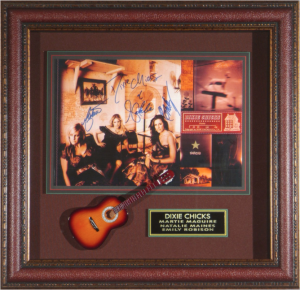 Dixie Chicks Band Signed Masterpiece Collage