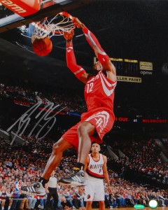 Dwight Howard Hand Signed Houston Rockets 16x20 Masterpiece