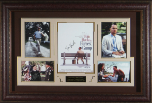 Forrest Gump Cast Signed Masterpiece Collage
