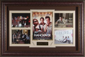 The Hangover Cast Signed Masterpiece collage
