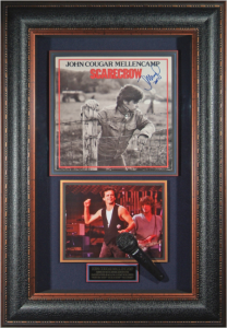 John Cougar Mellencamp Hand Signed Masterpiece Collage