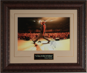 Kenny Chesney Hand Signed Masterpiece Collage