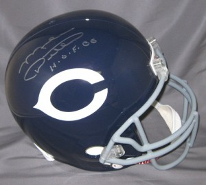 Mike Ditka Hand Signed Official Game Issue Throwback Bears Helmet