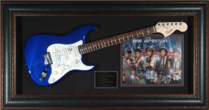 One Direction Band Signed and Framed Electric Guitar