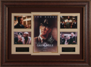 The Green Mile Cast Signed Masterpiece Collage