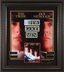 "Tom Cruise and Jack Nickelson Dual Singed ""A Few Good Men"" Masterpiece Collage"