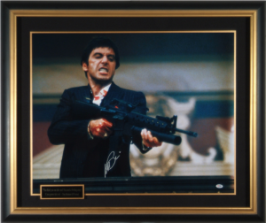 "Al Pacino Hand Signed ""Scarface"" Masterpiece Collage"