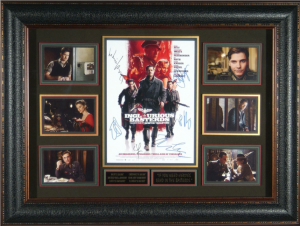 Inglorious Bastards Cast Signed Masterpiece Collage