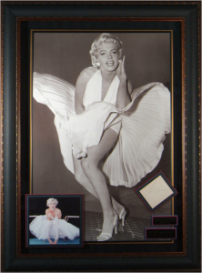 Marilyn Monroe Hand Signed Masterpiece Collage