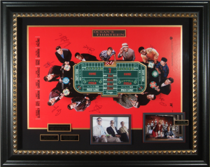 Ocean's 13 Cast Signed Masterpiece Collage