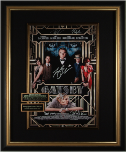 The Great Gatsby Cast Signed Masterpiece Collage