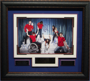Glee Cast Signed Masterpiece Collage