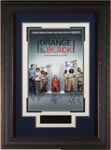 Orange is the New Black Cast Signed Masterpiece Collage