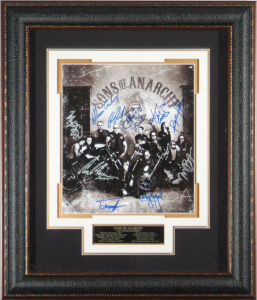 Sons of Anarchy Cast Signed Masterpiece Collage