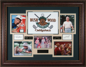 Caddy Shack Cast Signed Masterpiece Collage