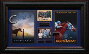 Disney's Secretariat Cast Signed Masterpiece Collage