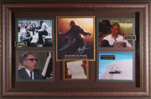 Shawshank Redemption Cast Signed Masterpiece Collage