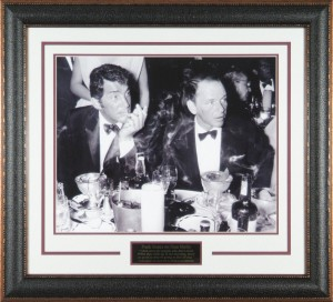 "Dean Martin and Frank Sinatra ""Drinking Buddies"" Masterpiece Collage"