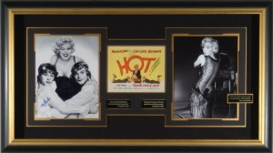 "Marilyn Monroe and Tony Curtis ""Some Like it Hot"" Masterpiece Collage"