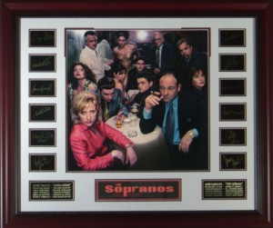 The Sopranos Cast Masterpiece Collage