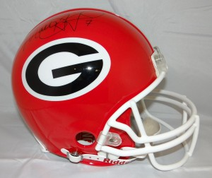 Matthew Stafford Signed Official Game Issue UGA Helmet
