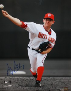 Stephen Strasburg Hand Signed Washington Nationals 16x20 Masterpiece