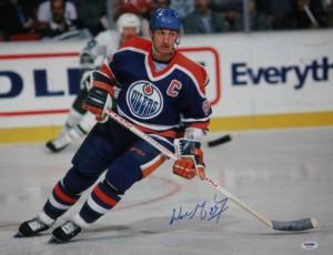 Wayne Gretzky Hand Signed 16x20 Masterpiece