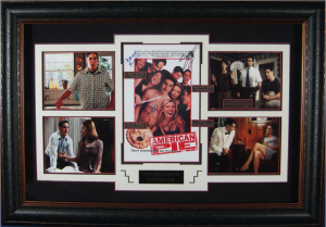 American Pie Cast Signed Masterpiece Collage